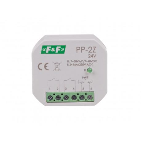 Electromagnetic relay PP-2Z 24 V
