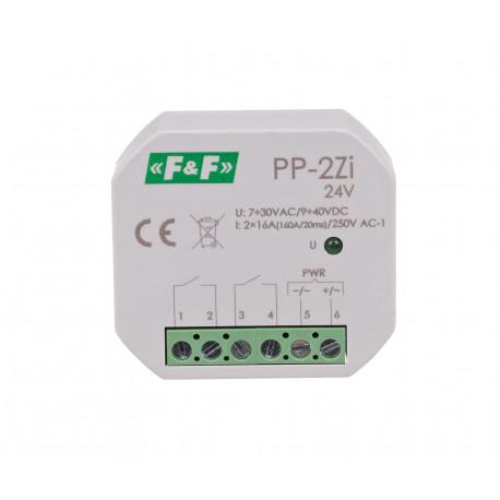 Electromagnetic relay PP-2Zi 24 V