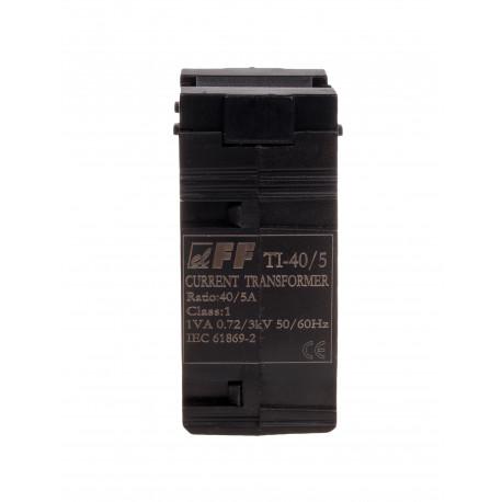 Jednofazowy przekładnik prądowy z zamkniętym rdzeniem TI-40