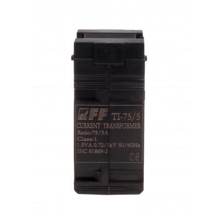 Przekładnik prądowy TI-75 jednofazowy, z zamkniętym rdzeniem