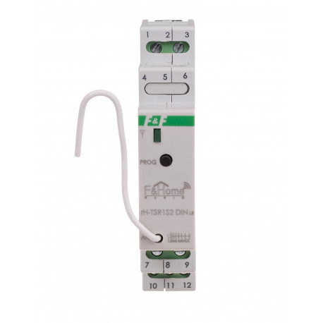 Przekaźnik trójstanowy z nadajnikiem dwukanałowym do montażu na szynie DIN