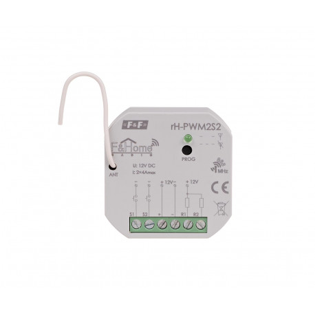 Two-channel low-voltage controller rH-PWM2S2