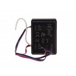 Bateryjny nadajnik czterokanałowy z pomiarem temperatury