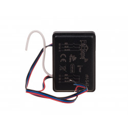 Battery four-channel transmitter with temperature measurement rH-S4T