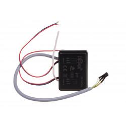 Bateryjny nadajnik czterokanałowy z zewnętrznym czujnikiem do pomiaru temperatury