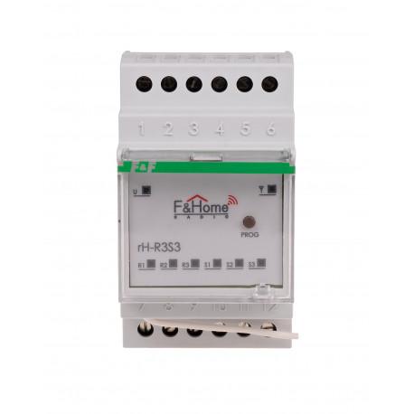 Przekaźnik trójkanałowy z nadajnikiem trójkanałowym