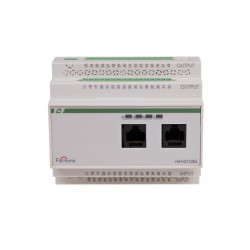 Logic module / twelve-channel on / off controller + six-channel controller of roller blinds / gates / awnings