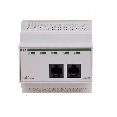 Ośmiokanałowy moduł czujników temperatury Inteligentny Dom F&Home