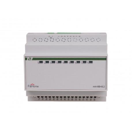 Przekaźnikowy moduł systemu przewodowej inteligentnej automatyki domowej F&Home