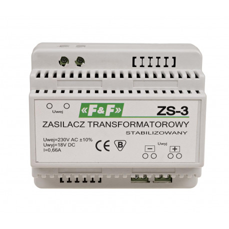 Stabilised power supply ZS-3