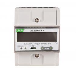 Trójfazowy licznik zużycia prądu LE-03MW CT