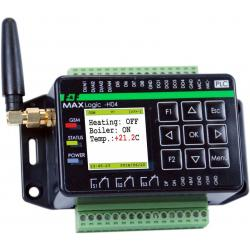 MAX H04 z komunikatorem GSM