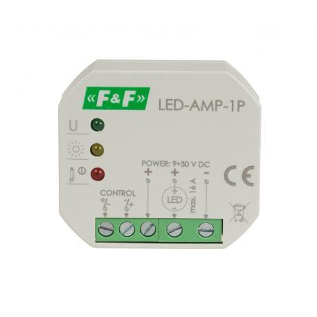 LED-AMP-1P wzmacniacz sygnału zasilającego