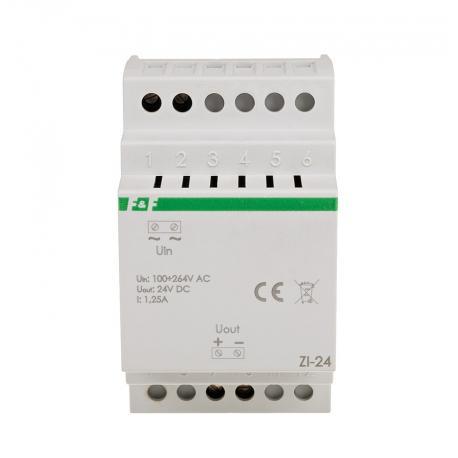 Impulsowy zasilacz ZI-24 do urządzeń, które wymagają stabilnego, filtrowanego napięcia zasilającego