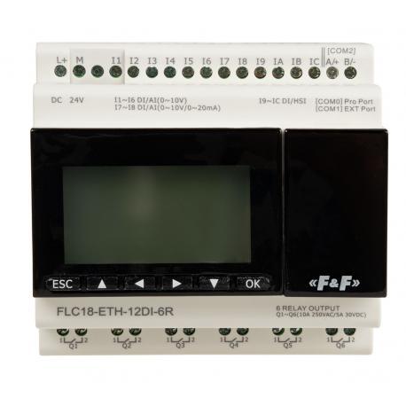 Sterownik programowalny FLC18-ETH-12DI-6R