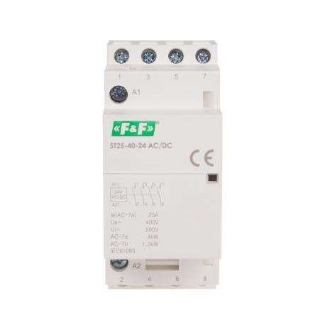 Stycznik modułowy ST25-40 24 V AC/DC