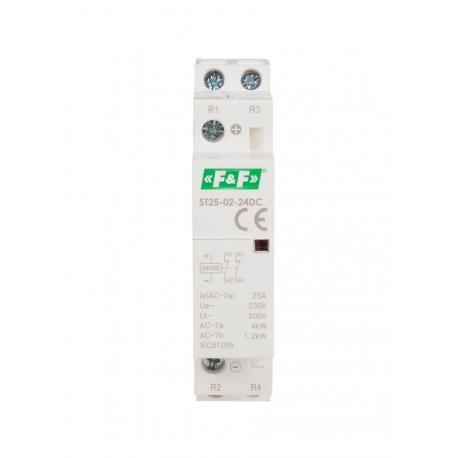 Stycznik modułowy ST25-02-24 V DC