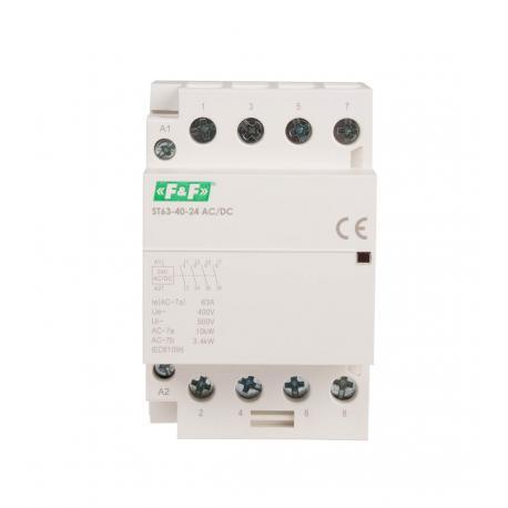 Stycznik modułowy ST63-40 24 V AC/DC