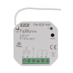 FW-R2P-NN przekaźnik do sterowania radiowego oświetleniem w tradycyjnych instalacjach elektrycznych bez przewodu N