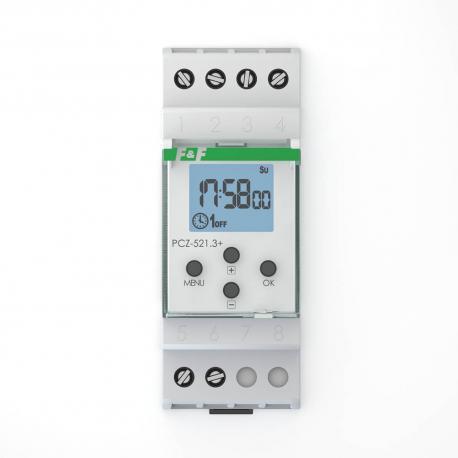 Zegar programowalny tygodniowy PCZ-521.3 PLUS