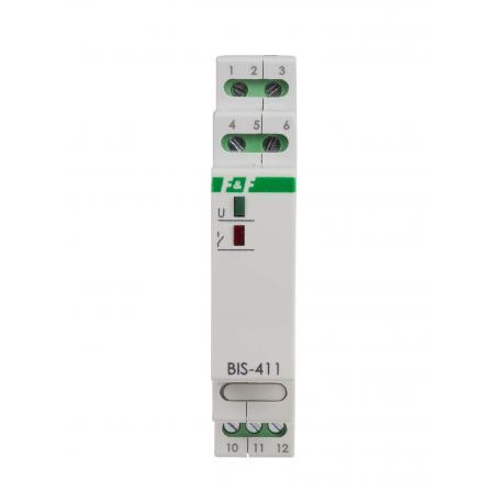 Przekaźnik bistabilny z pamięcią pozycji styku BIS-411M 24V