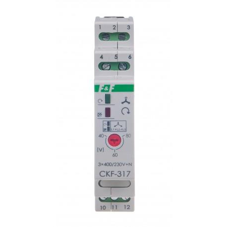 Czujnik kolejności i zaniku fazy CKF-317 TrueRMS