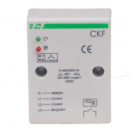 Three-phase asymmetry and sequence monitors CKF