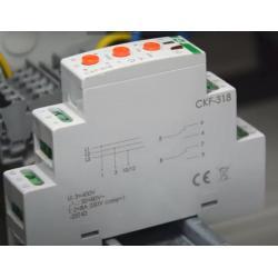 Wideoporadnik - CKF-318 czujnik kolejności i zaniku fazy