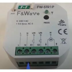 Wideoporadnik - Sterowanie radiowe F&Wave-radiowy sterownik do rolet FW-STR1P