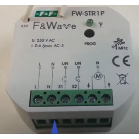 Wideoporadnik - Sterowanie radiowe F&Wave-sterownik do rolet FW-STR1P
