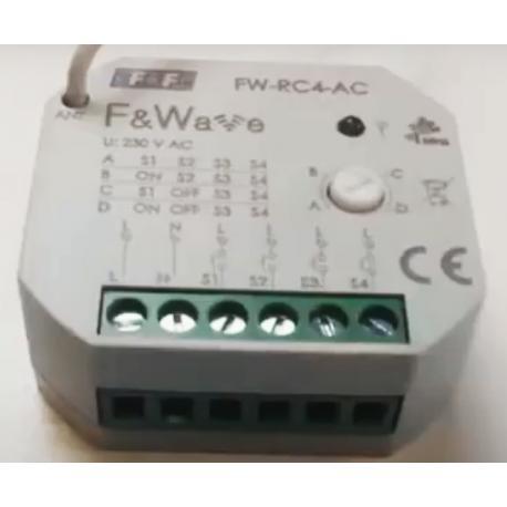 Wideoporadnik - Sterowanie radiowe F&Wave- nadajnik 4-przyciskowy
