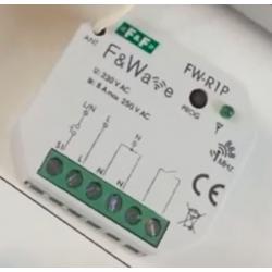 Wideoporadnik -Radiowy system sterowania F&Wave-pojedynczy przekaźnik bistabilny podtynkowy