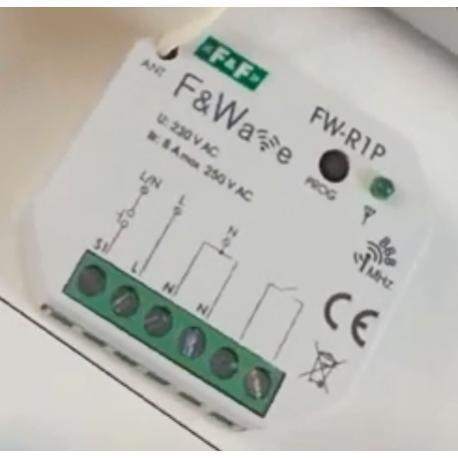 Wideoporadnik --pojedynczy przekaźnik bistabilny podtynkowy F&Wave