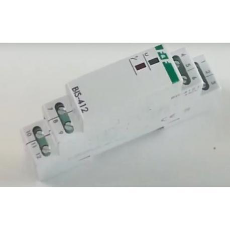 Wideoporadnik -Grupowy (hotelowy) przekaźnik bistabilny BIS-412 LED do oświetlenia LED