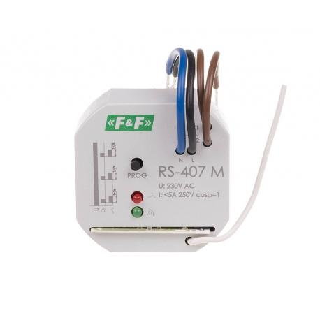Radio control relay RS-407 M