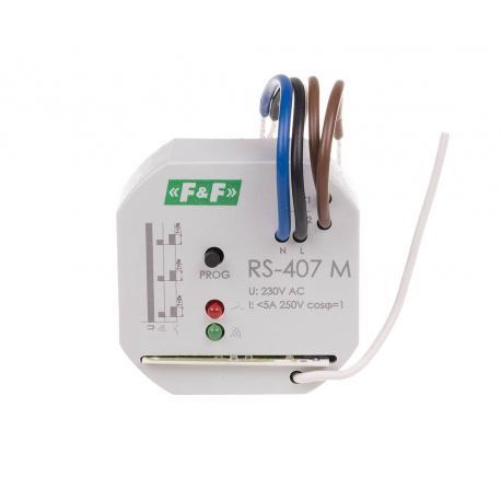 Elektroniczny przekaźnik zdalnego sterowania radiowego RS-407 M