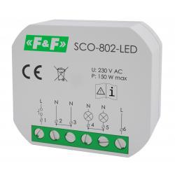 Ściemniacz oświetlenia SCO-802-LED 230V