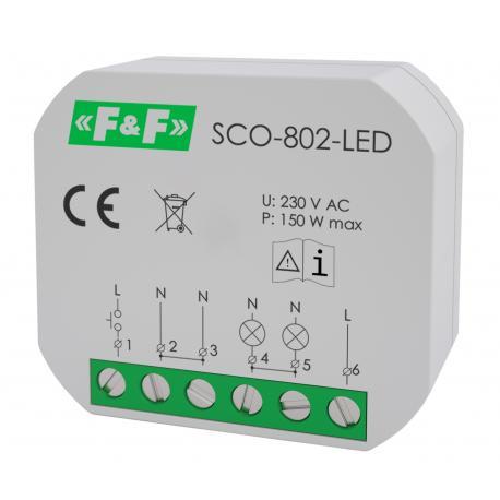 Ściemniacz do LED SCO-802-LED 230 V