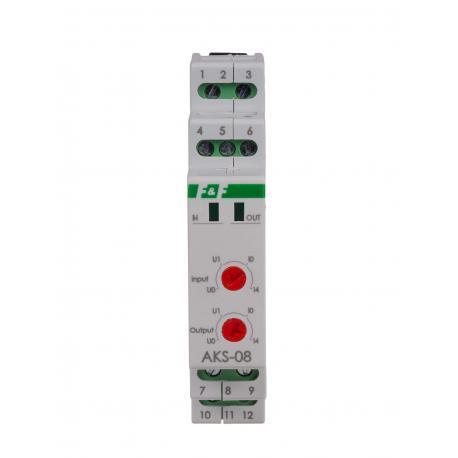Separator sygnałów analogowych AKS-08