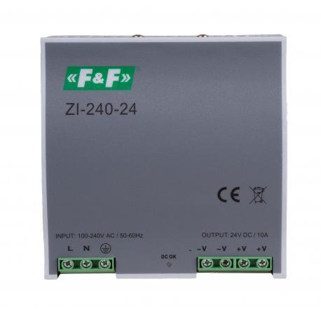 Zasilacz ZI-240-24 impulsowy