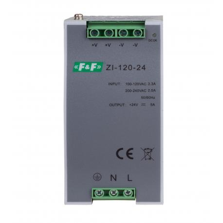 Pulse power supply ZI-120-24