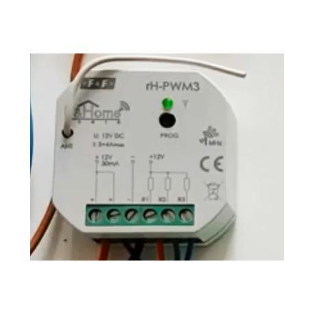 Wideoporadnik - Bezprzewodowy system inteligentnego domu F&Home Radio-sterownik LED rH-PWM3