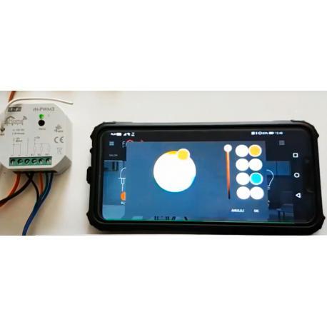 Wideoporadnik - F&Home Radio mozliwości konfiguracji panelu RGB