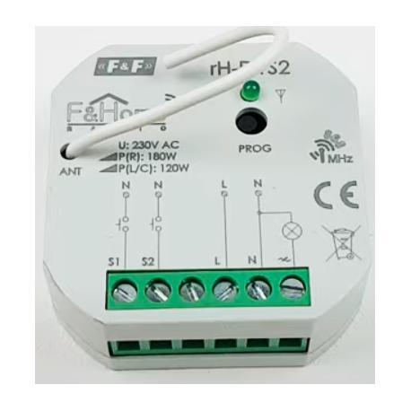 Wideoporadnik - F&Home Radio-instalujemy i konfigurujemy ściemniacz oświetlenia rH-D1S2