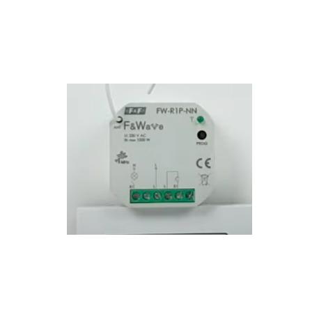 Wideoporadnik - F&Wave- wykorzystanie przekaźnika do tradycyjnych instalacji elektrycznych FW-R1P-NN