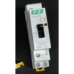 Wideoporadnik - Stycznik modułowy z przyciskiem do ręcznego sterowania ST25-20-M