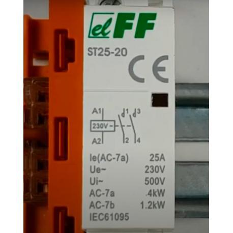 Wideoporadnik -Jak zbudować układ przekaźnikowo-stycznikowy ze stycznikiem ST25-20?
