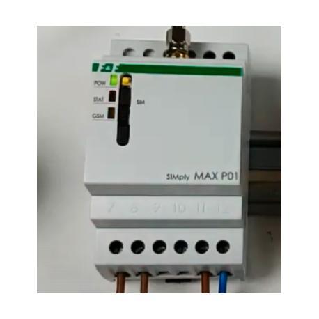 Wideoporadnik - SIMply MAX P01-kontrola urządzeń elektrycznych w domu za pomocą SMS