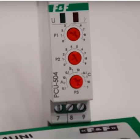 Wideoporadnik - PCU 504 UNI-przekaźnik czasowy z podtrzymaniem po zaniku zasilania