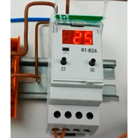 Wideoporadnik -Regulator temperatury RT-826